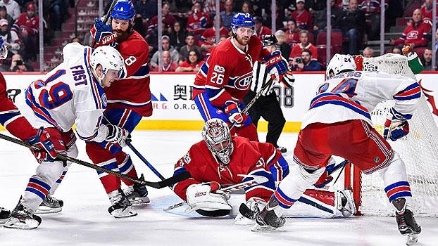 Rangers vencem os Canadiens e abrem vantagem na série