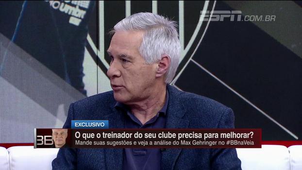 Max Gehringer diz que não aceitaria ser gestor de clube de futebol e relembra entrevista com Bandeira de Mello
