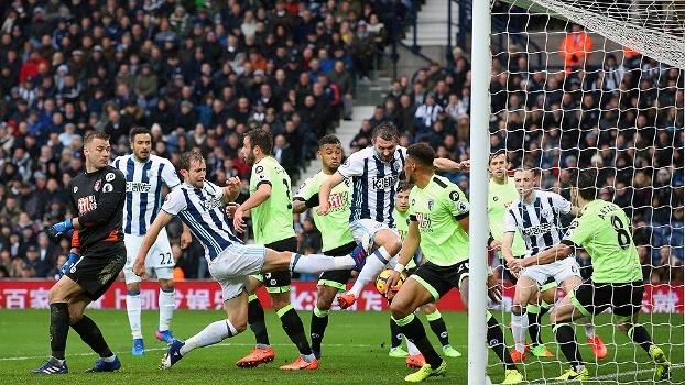 Assista aos gols da vitória do West Bromwich sobre o Bournemouth por 2 a 1