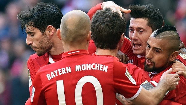 Assista aos gols da vitória do Bayern de Munique sobre o Eintracht Frankfurt por 3 a 0