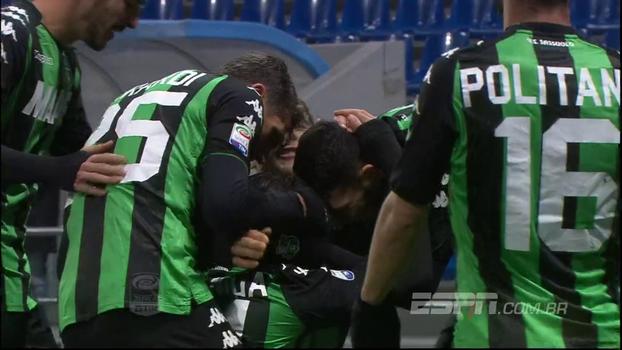 Assista aos melhores momentos da vitória do Sassuolo sobre o Crotone por 2 a 1!