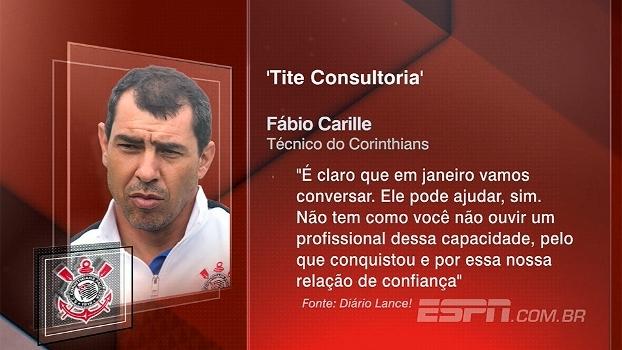 Alê Oliveira vê linha de pensamento de Carille muito próxima à de Tite