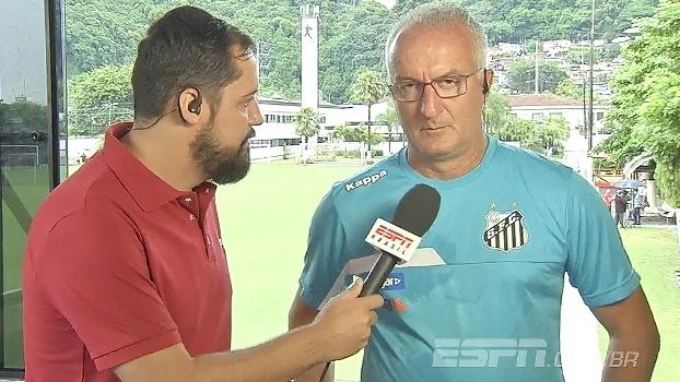 Dorival fala sobre o time do Santos para 2017: 'Manutenção do elenco foi o principal reforço'