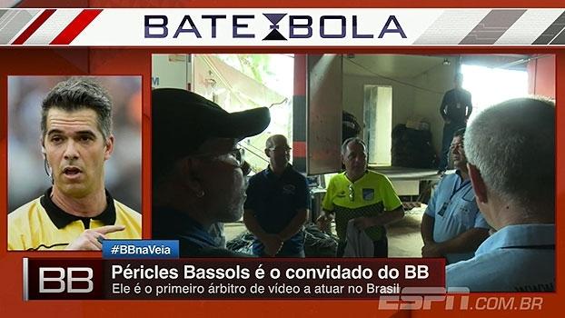 Primeiro árbitro de vídeo do Brasil, Péricles Bassols avalia: 'Não consigo ver falta de benefícios'