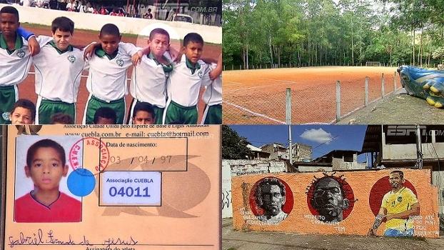 Gabriel Jesus, o início: veja onde e como foram os primeiros passos no futebol do garoto de Peri