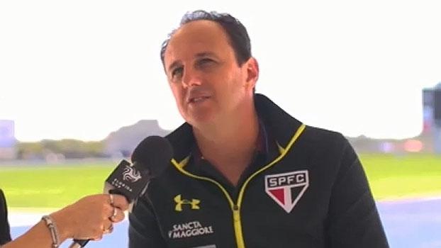 Em preparação para a Florida Cup, Rogério Ceni projeta: 'Responsabilidade é vencer'