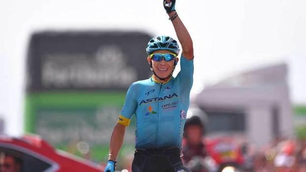 Veja como foi a etapa 15 da Volta da Espanha, conquistada pelo colombiano Miguel Ángel López