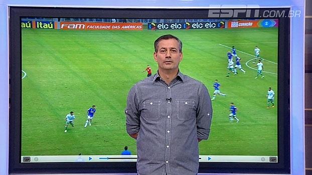 Sálvio Spinola não vê pênalti em Edu Dracena: 'Tropeçou na própria perna'