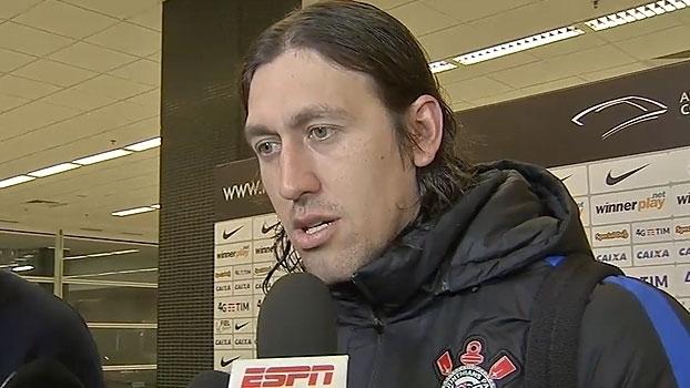 Cássio pede apoio da torcida e projeta: 'Posso ser o melhor em campo na próxima partida'