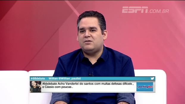 Bertozzi vê Rodrigo Caio como mais contestável em convocação de Tite
