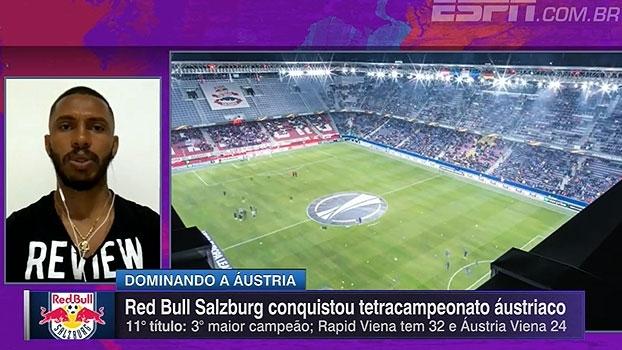 Paulo Miranda, zagueiro do Red Bull Salzburg, fala das temporadas na Áustria: 'Melhor fase da carreira'