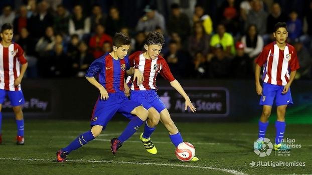 Barcelona goleia Atlético de Madri e é campeão de torneio sub-12