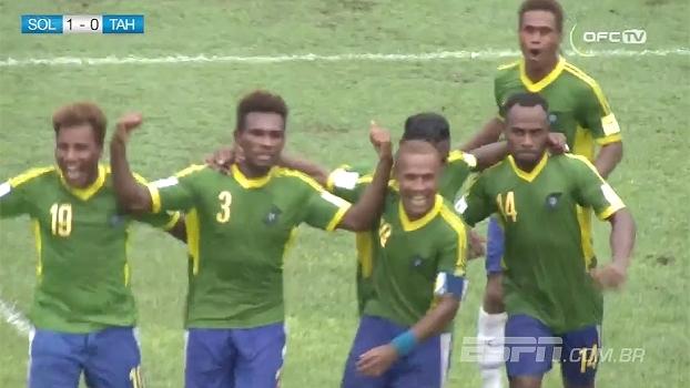 Ilhas Salomão surpreendem, vencem Taiti e assumem liderança do grupo B das Eliminatórias da Oceania