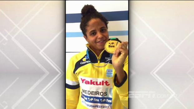 Etiene Medeiros manda recado após inédita medalha de ouro: 'Obrigada, Brasil!'