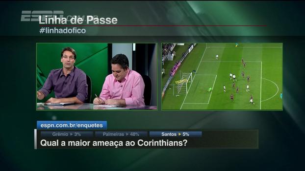 Arnaldo Ribeiro: 'O Palmeiras tem obrigação de continuar perseguindo o Corinthians'