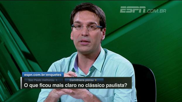 Arnaldo analisa arbitragem do Morumbi, vê São Paulo em evolução e desaprova últimos jogos do Corinthians