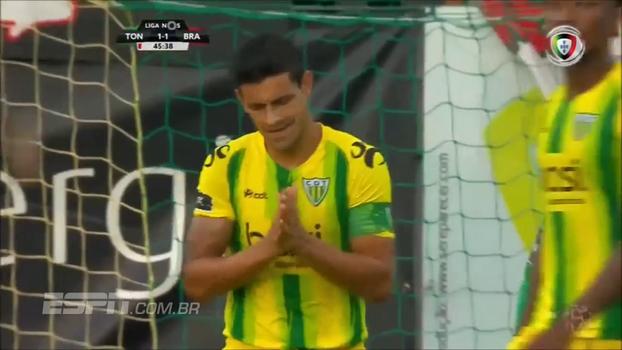 Com gol contra bizarro, Braga venceu o Tondela pelo Português