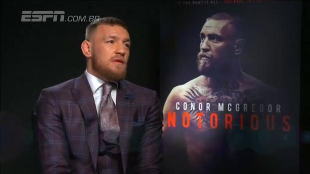 McGregor espera ultrapassar CR7 como atleta mais bem pago: 'Eu só sonho em bater essa marca de ser bilionário'