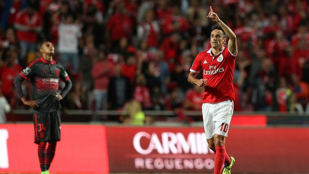 Português: Gols de Benfica 3 x 1 Braga