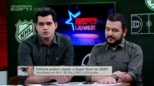 Eagles e Patriots são os favoritos ao Super Bowl? ESPN League avalia e destaca pontos fortes