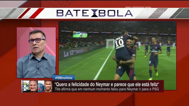 Calçade cita 'limites' que Neymar tinha no Barcelona e analisa 'trânsito livre' no PSG