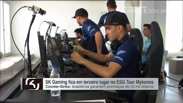 SK Gaming fica em terceiro lugar no ESG Tour Mykonos