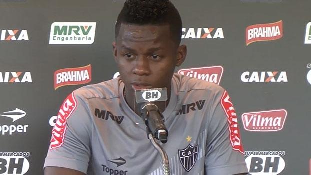 Cazares projeta 2017 no Atlético-MG: 'Quero estar mais concentrado'