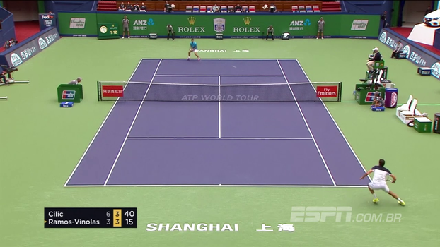 Cilic despacha Ramos Viñolas e encara Nadal na semifinal do Masters 1000 de Xangai