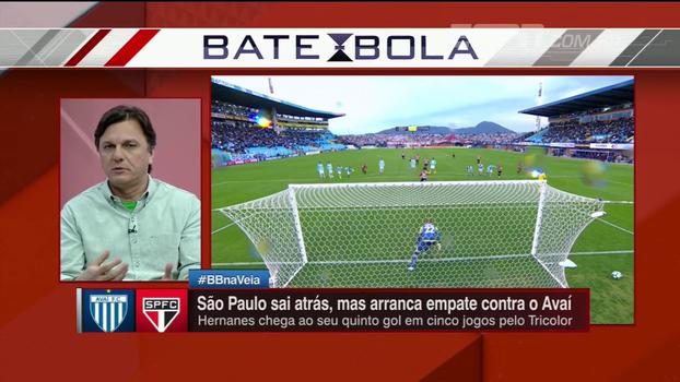 Mauro discorda de análise de Dorival e vê São Paulo ainda em situação perigosa no Brasileiro