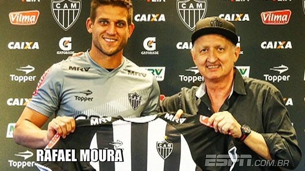 Rafael Moura volta ao Atlético Mineiro após 13 anos; veja lances do atacante