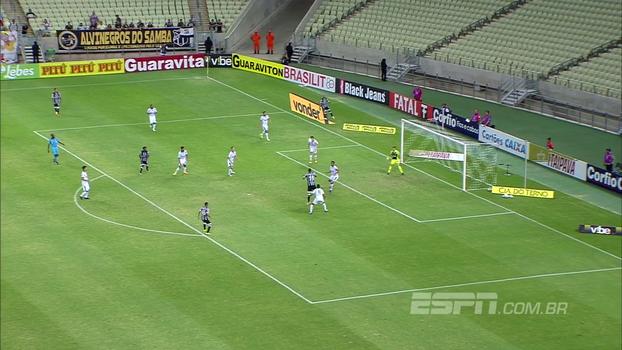 Veja os gols de Ceará 1 x 1 América-MG