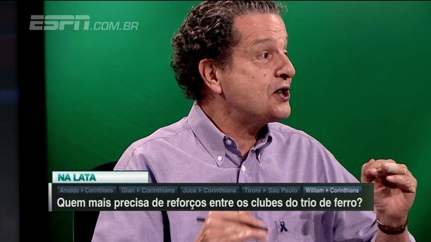 Juca analisa promessas de Andrés para o Corinthians: 'Típicas da irresponsabilidade que o caracteriza'
