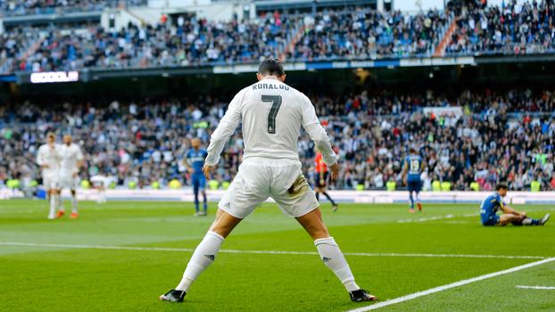 20 gols em 2 minutos: veja Cristiano Ronaldo aniquilando o Getafe ao som de 'Sweet Dreams'