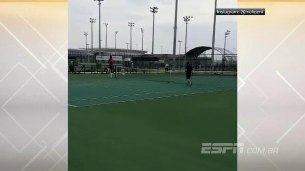 Pai apela às redes sociais para pedir ajuda a Fernando Meligeni: situação do tênis no Brasil é lamentável