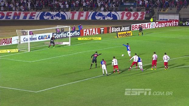 Assista aos gols de Paraná Clube 4 x 1 CRB