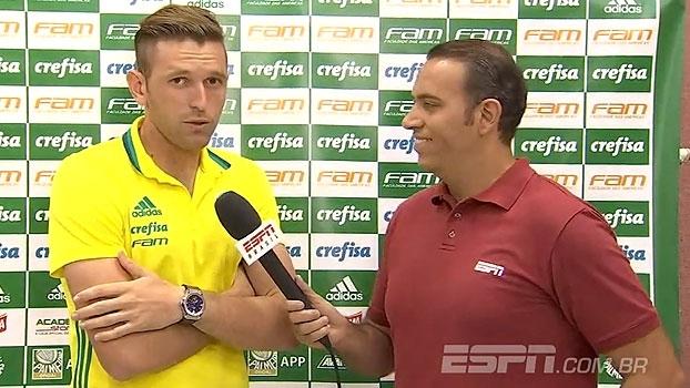 Fabiano destaca responsabilidade do Palmeiras em 2017 e se prepara para jogo especial
