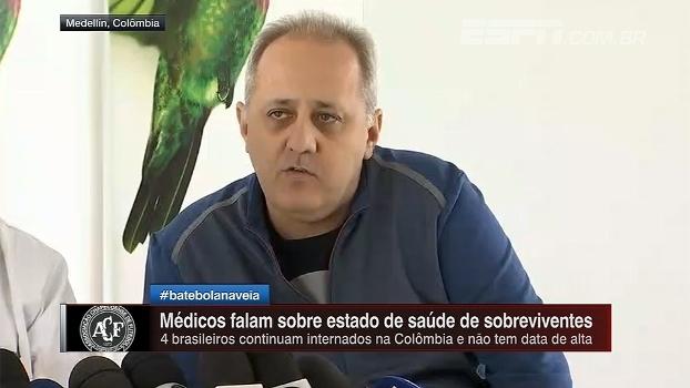 Médicos atualizam boletim de saúde dos brasileiros e ainda não há previsão de alta