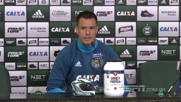 Wilson comenta momento ruim do Coritiba, acredita na recuperação e quer vitória contra o Cruzeiro