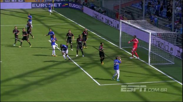 Campeonato Italiano: Melhores momentos de Sampdoria 2 x 0 Milan
