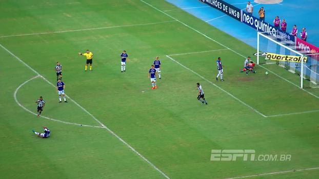 Brasileiro: Gols de Botafogo 2 x 2 Cruzeiro