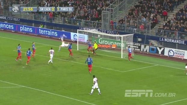 Sorte e competência! Goleiro do Caen faz milagre contra o PSG