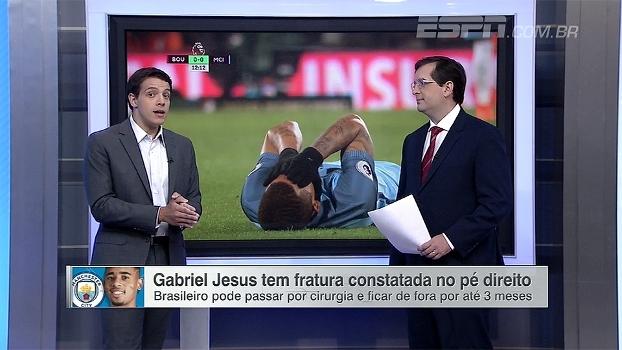 Rafael Oliveira: Lesão interrompe sequência muito boa de Jesus e pode significar fim de temporada