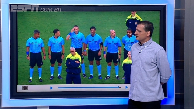 Punição a árbitro uma hora após Flamengo x Vasco foi surpreendentemente rápida? Sálvio analisa