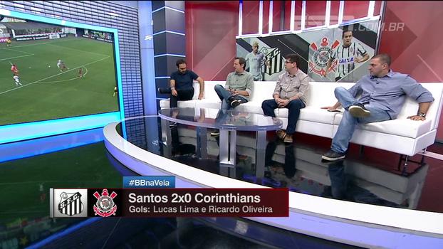 Zé Elias e Gian elogiam partida de Lucas Lima, mas pedem regularidade: 'É muito acima da média do futebol brasileiro'