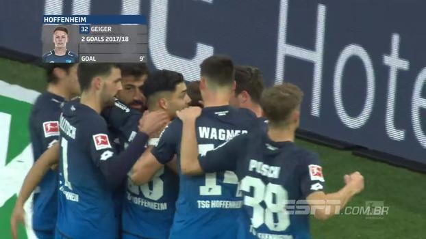 Assista aos melhores momentos da vitória do Hoffenheim sobre o Colônia por 3 a 0!