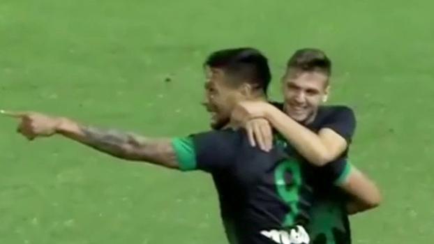 Ex-São Paulo, Chávez estreia com gol no Panathinaikos