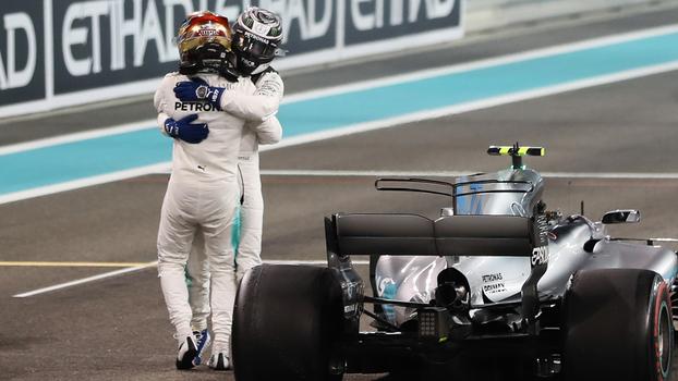 Bottas vence GP de Abu Dhabi, Vettel é vice e Massa termina em décimo