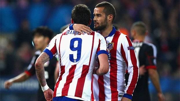 Champions League (oitavas - volta): Gols de Atlético de Madri 1 (3) x (2) 0 Bayer Leverkusen