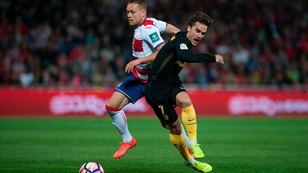 Griezmann marca, Atlético de Madri vence Granada e segue em 4º