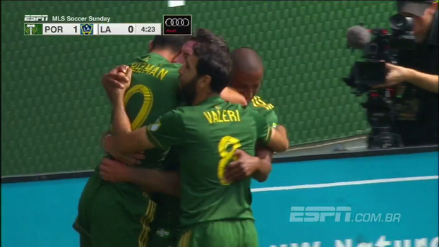 Com golaços e árbitro de vídeo em ação, Portland Timbers vence LA Galaxy pela MLS